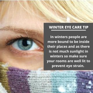 Winter Eye Care Tip