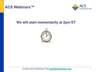 ACS Webinars™