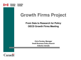 Growth Firms Project
