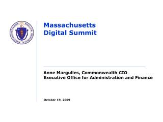 Massachusetts Digital Summit