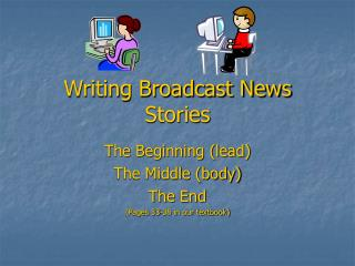 Writing Broadcast News Stories