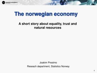 The norwegian  economy