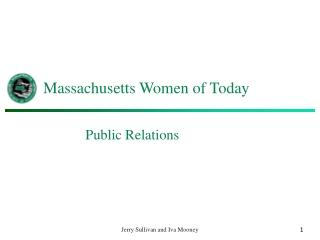 Massachusetts Women of Today