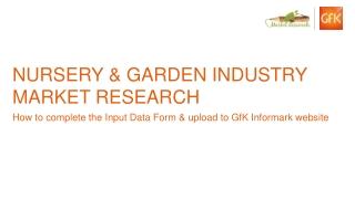 Nursery & Garden Industry Market Research
