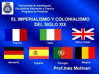 EL IMPERIALISMO Y COLONIALISMO DEL SIGLO XIX