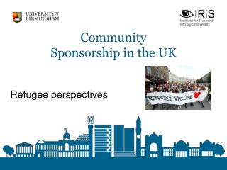 Community Sponsorship in the UK