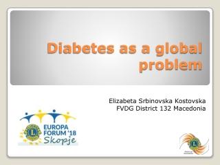 Diabetes as a global problem