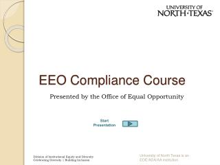 EEO Compliance Course