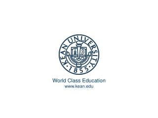 World Class Education kean