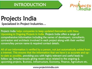 Projects India