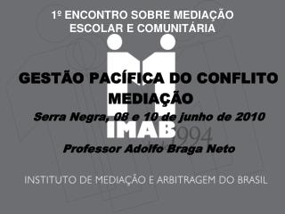 1  ENCONTRO SOBRE MEDIA  O  ESCOLAR E COMUNIT RIA