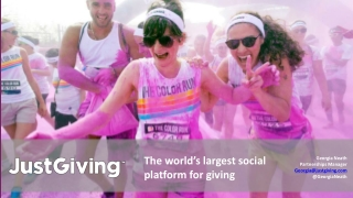 The world's largest social platform for giving