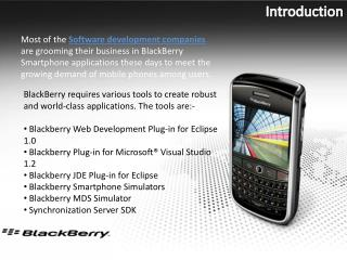 Blackberry Development Outsourcing