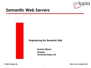 Semantic Web Servers