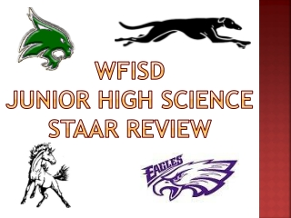 WFISD  Junior High Science STAAR  Review