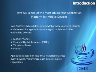 J2ME Application Development Company India