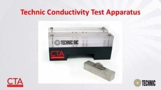 Technic Conductivity Test Apparatus