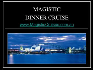 Sydney Harbour Dinner Cruises