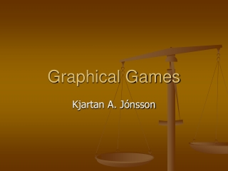 Graphical Games