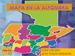 MAPA EN LA ALFOMBRA