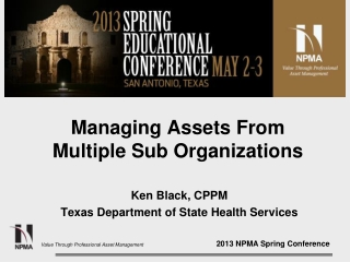 Managing Assets From Multiple Sub Organizations