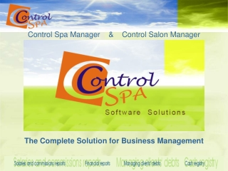 The Complete Solution for Business Management
