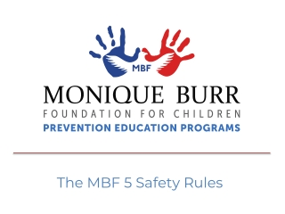 The MBF 5 Safety Rules