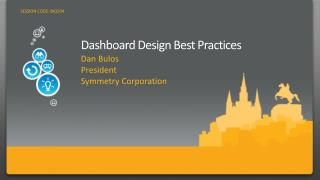 Dashboard Design Best Practices