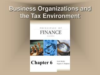 Business Organizations and the Tax Environment