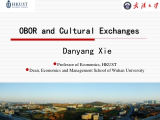 OBOR and Cultural Exchanges