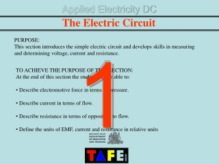 Applied Electricity DC