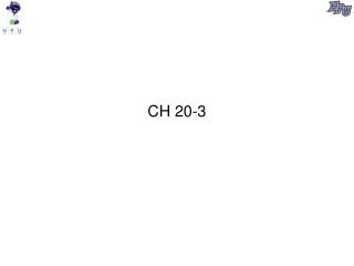 CH 20-3