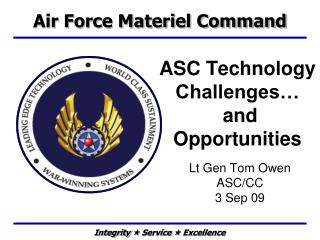 ASC Technology Challenges…  and Opportunities