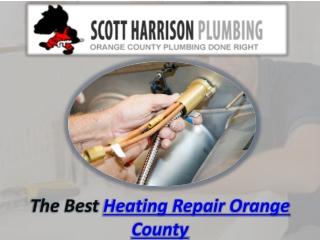 Heating Repair Orange County