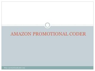 Promotional Coder