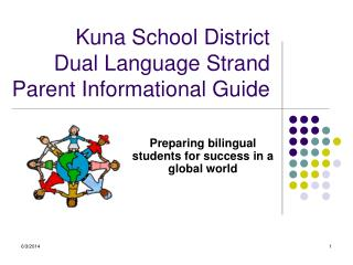 Kuna School District  Dual Language Strand   Parent Informational Guide