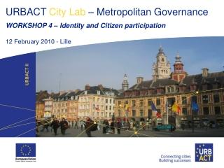 Identity and Citizen participation
