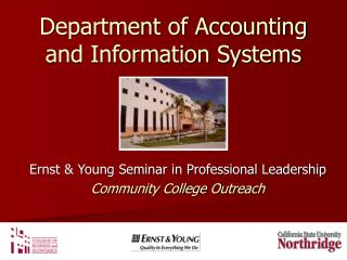 Department of Accounting and Information Systems