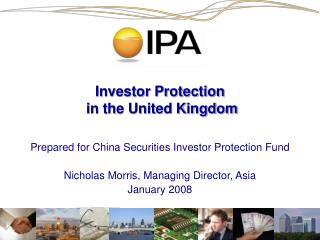 Investor Protection  in the United Kingdom