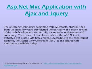 JQuery AJAX with ASP.NET MVC