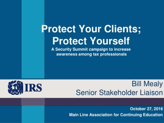 October 27, 2016 Main Line Association for Continuing Education