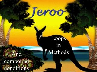 Loops in Methods
