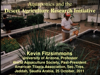 Aquaponics and the Desert Agriculture Research Initiative
