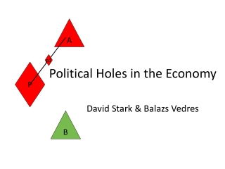 Political Holes in the Economy
