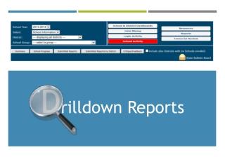 D rilldown Reports