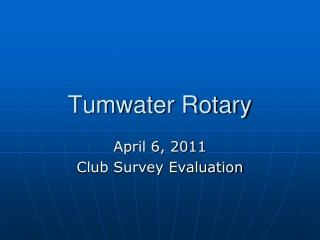 Tumwater Rotary