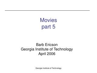 Movies part 5
