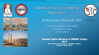 Odontoid Fracture in Elderly Population