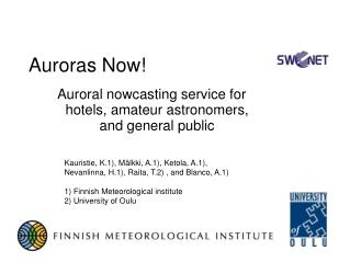 Auroras Now!