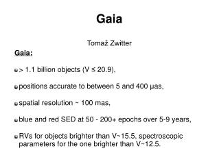 Gaia Tomaž Zwitter